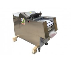 Continuous Automatic Chicken/Frozen Meat Cutting Machine