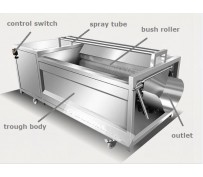 Vegetable washing machines are used for commercial purposes