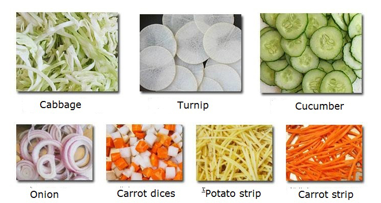 Multifuntional electric vegetable cutter machine