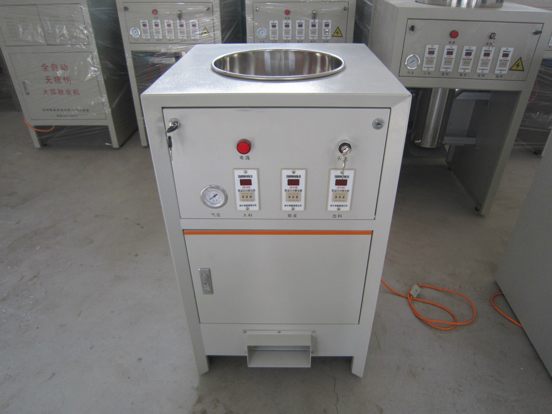 industrial garlic peerler machine