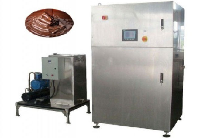 commercial chocolate tempering machine